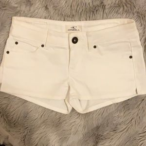 Wht Jean shorts